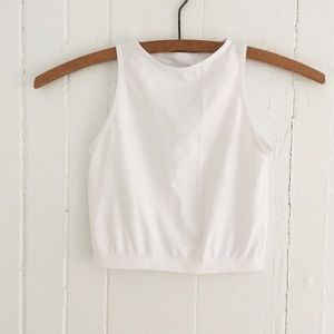 Intimately Free People High Neck Crop Top